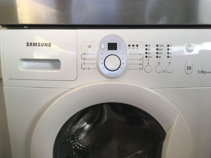 Samsung WFO500NXW elöltöltős mosógép panel