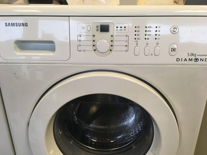 Samsung WF8508NMW8 elöltöltős mosógép panel