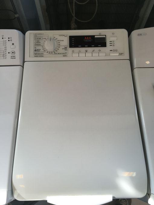 AEG 46010 L felültöltős mosógép