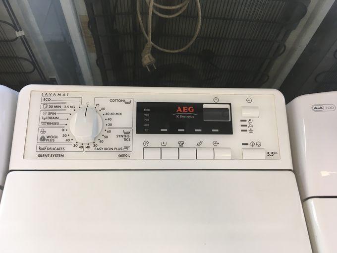 AEG 46010 L felültöltős mosógép  panel