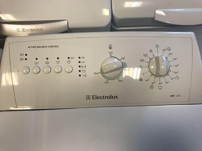 Electrolux EWT 833 felültöltős mosógép panel