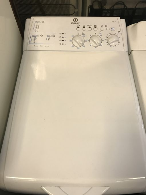Indesit WITL 86 felültöltős mosógép